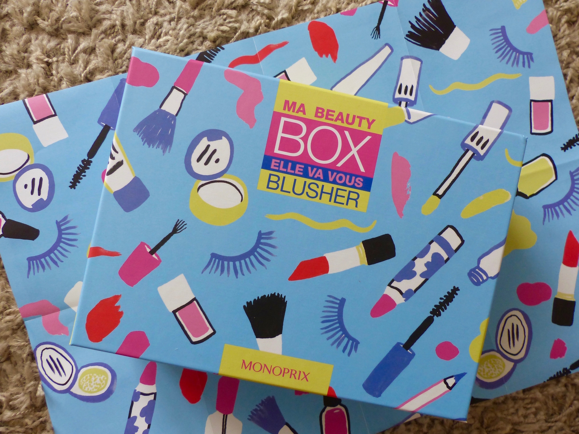 beauty box monoprix