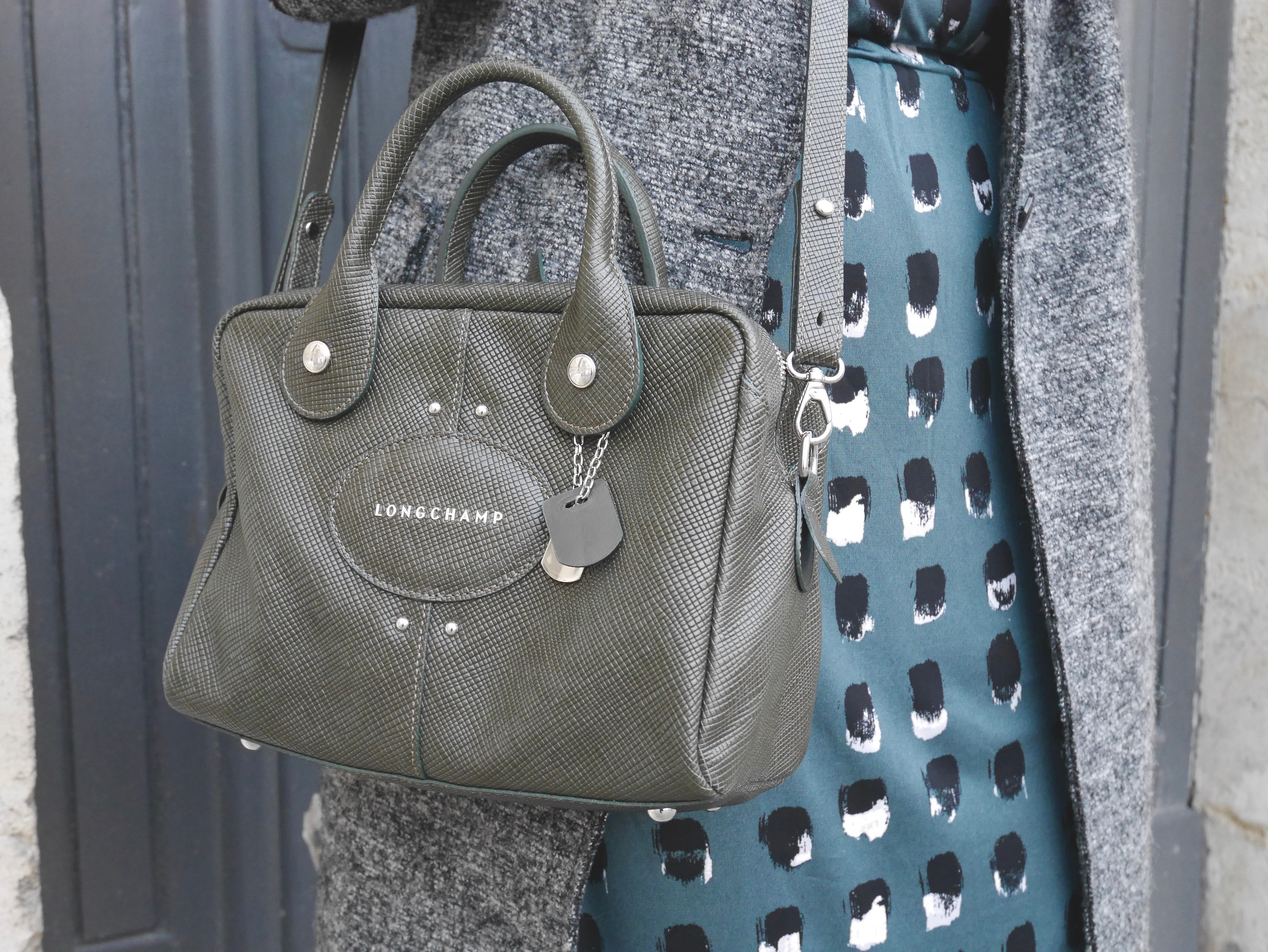 sac longchamp quadri