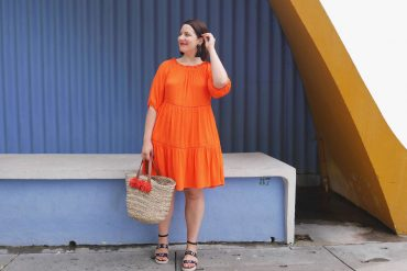 robe orange soldes