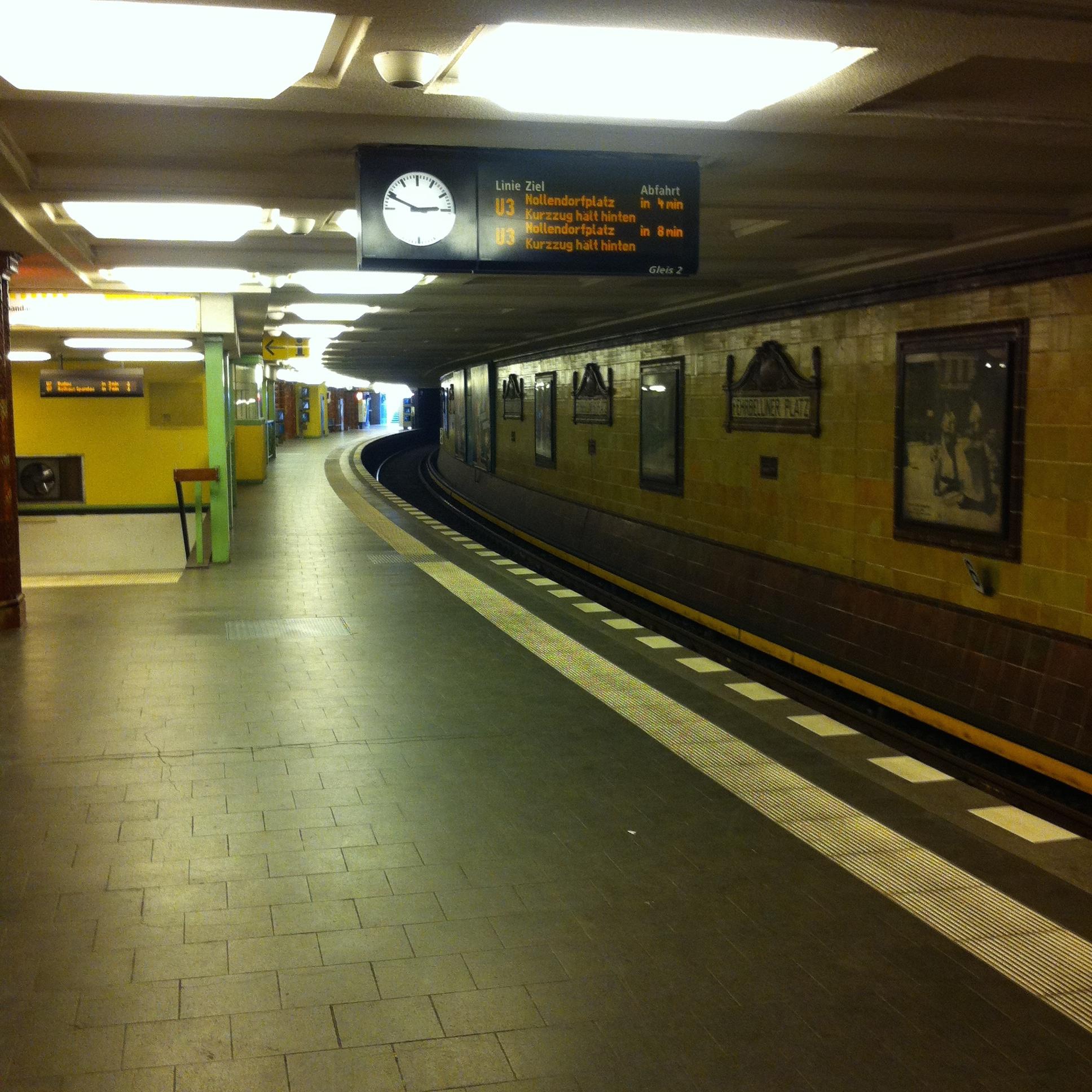Station de métro à Berlin