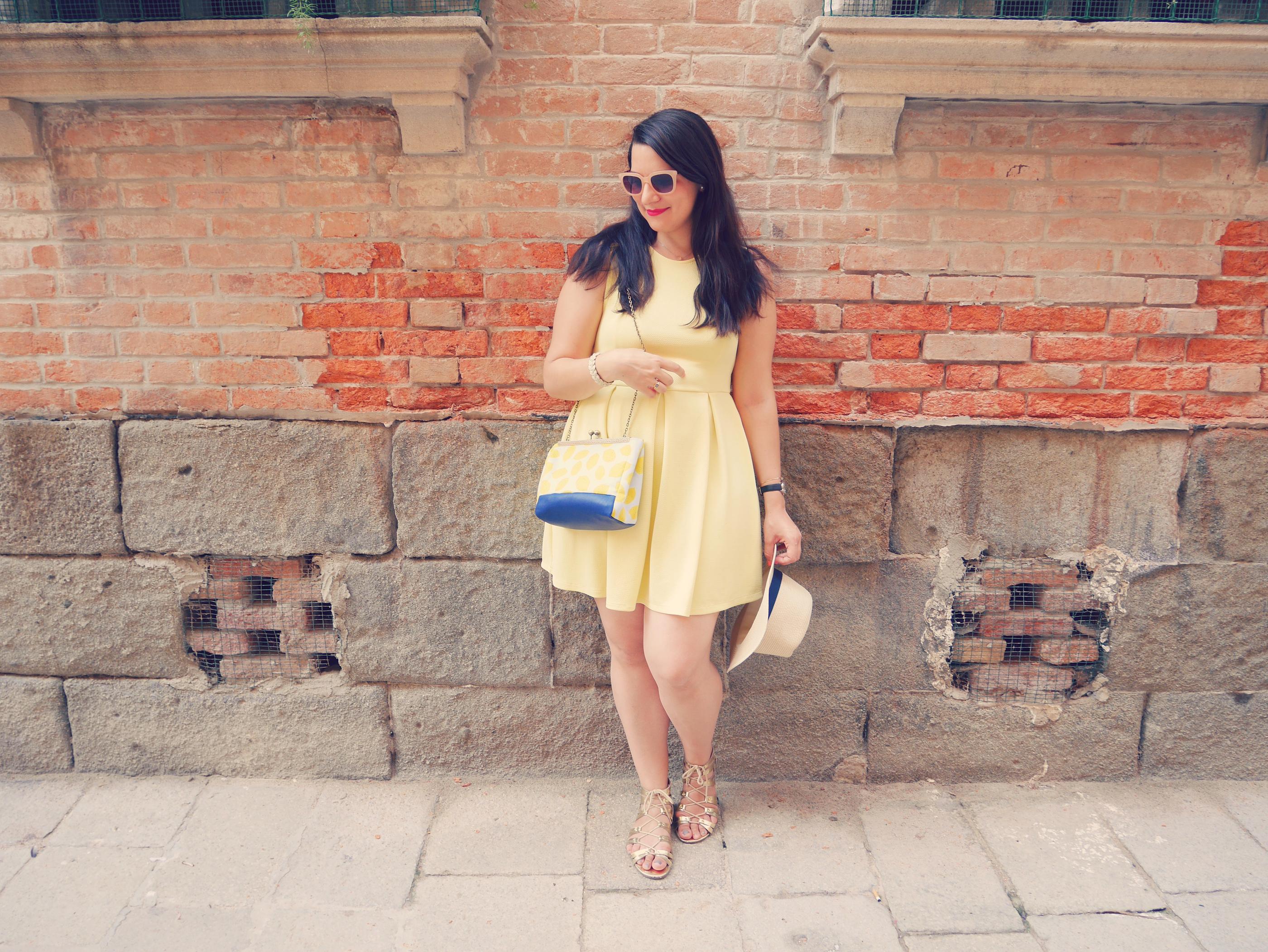 robe jaune pimkie