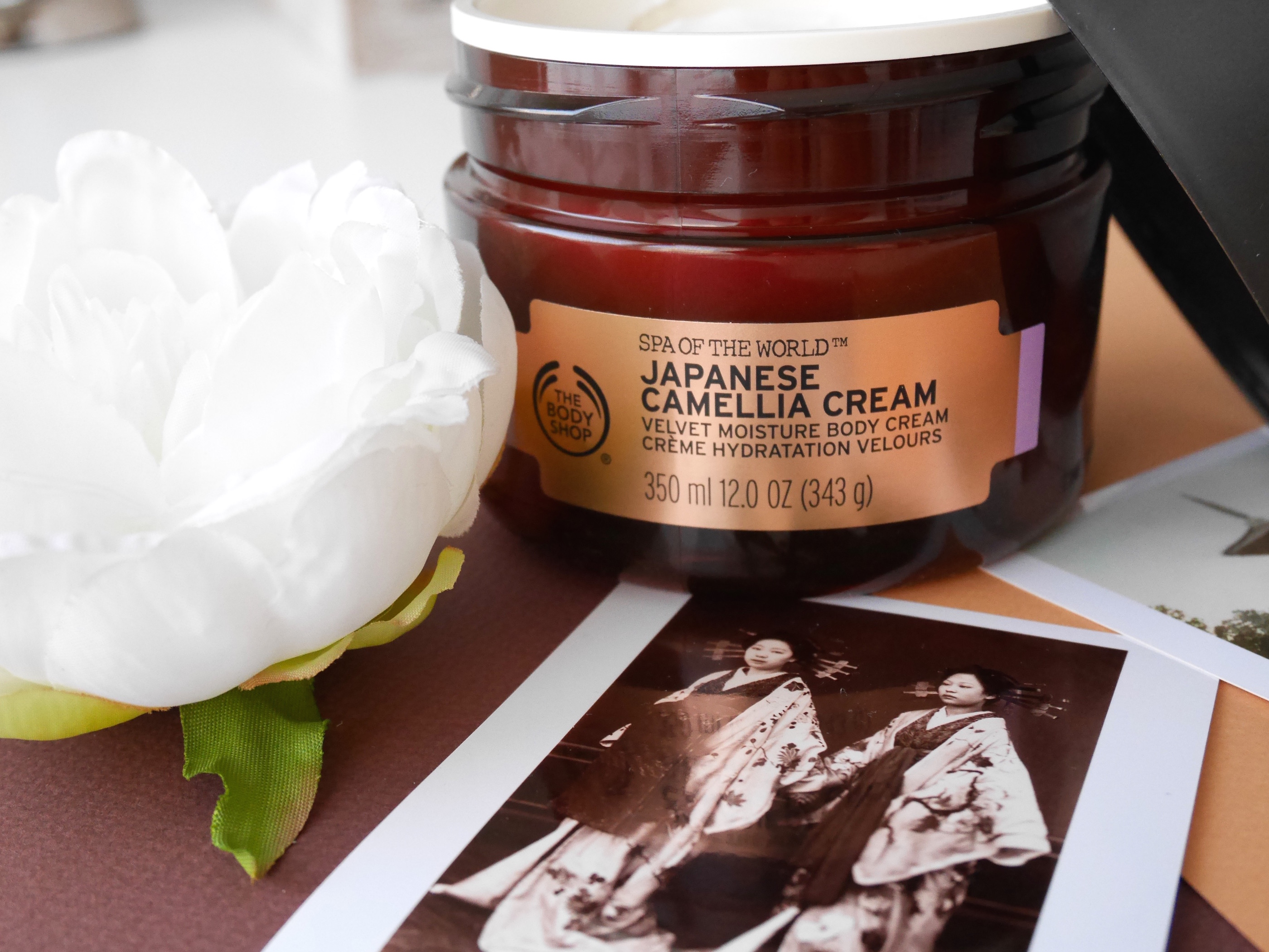 The Body Shop Japanese Camelia Cream