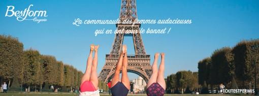 CONCOURS : #ToutEstPermis avec Bestform Lingerie !