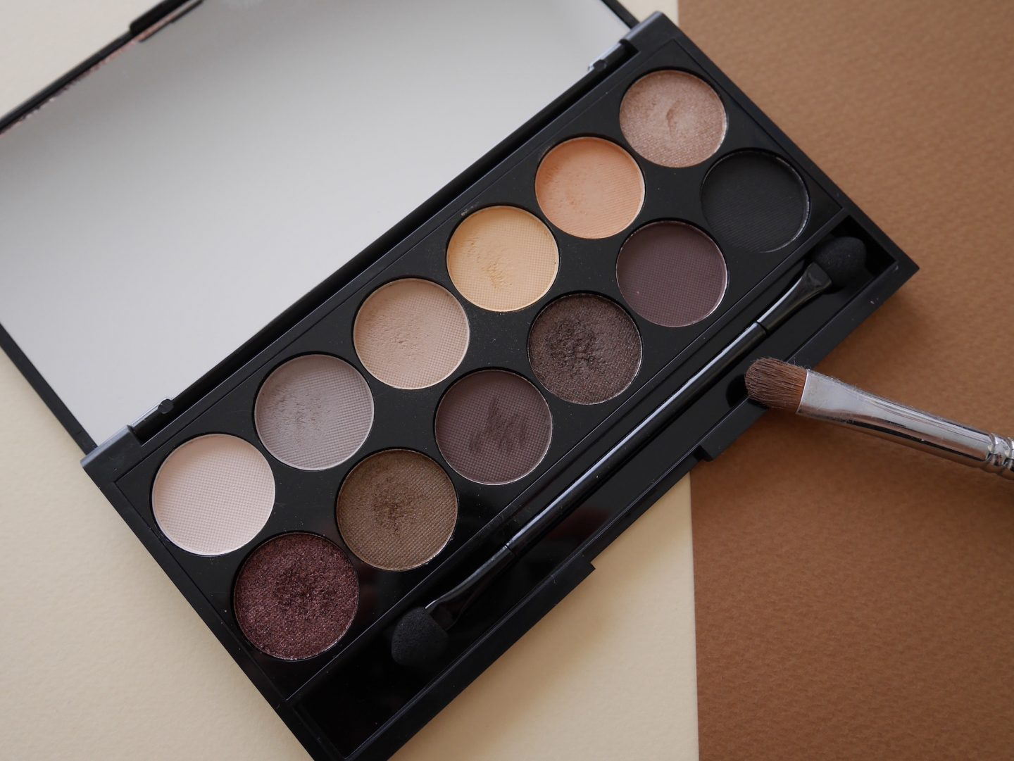 Tuto video : la Palette i-Divine Au Naturel de Sleek