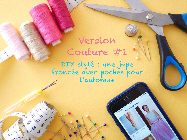 Version Couture # 1 : DIY jupe froncée avec poches intégrées