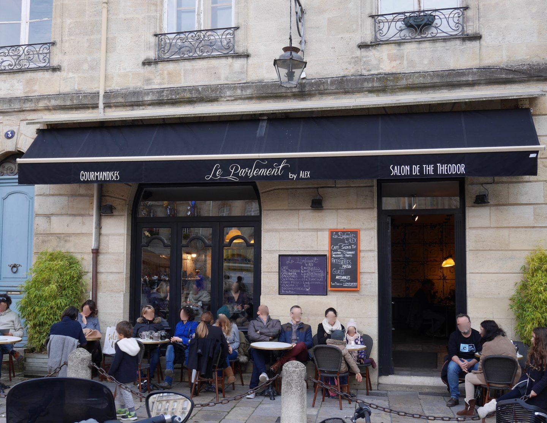 Salon de thé à Bordeaux   Le Parlement by Alex