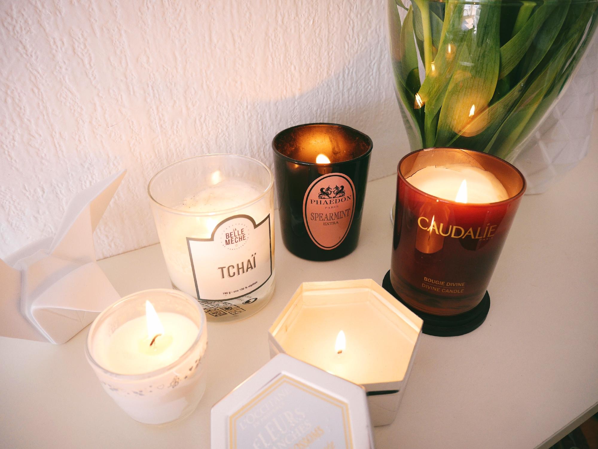 bougies parfumées la belle mèche caudalie