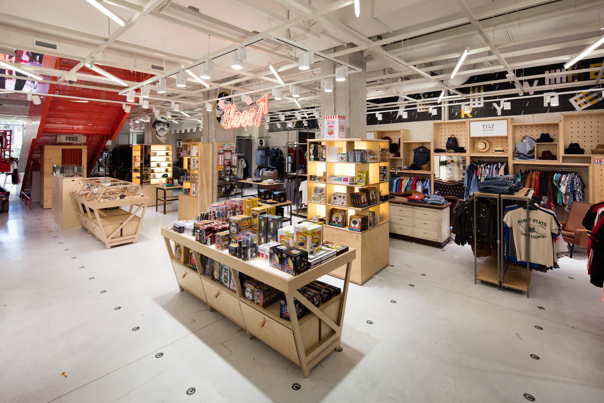 Citadium a ouvert son magasin de mode sport à Bordeaux