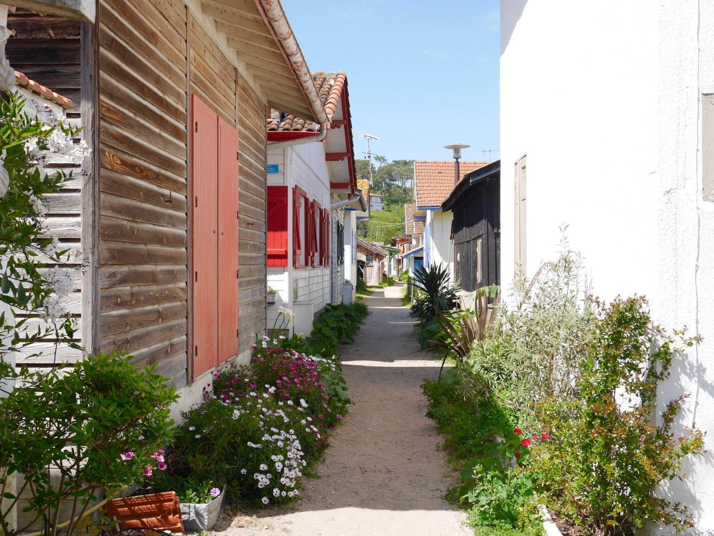 village de l'herbe lège-cap-ferret