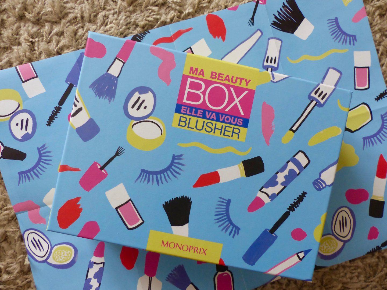 beauty box monoprix