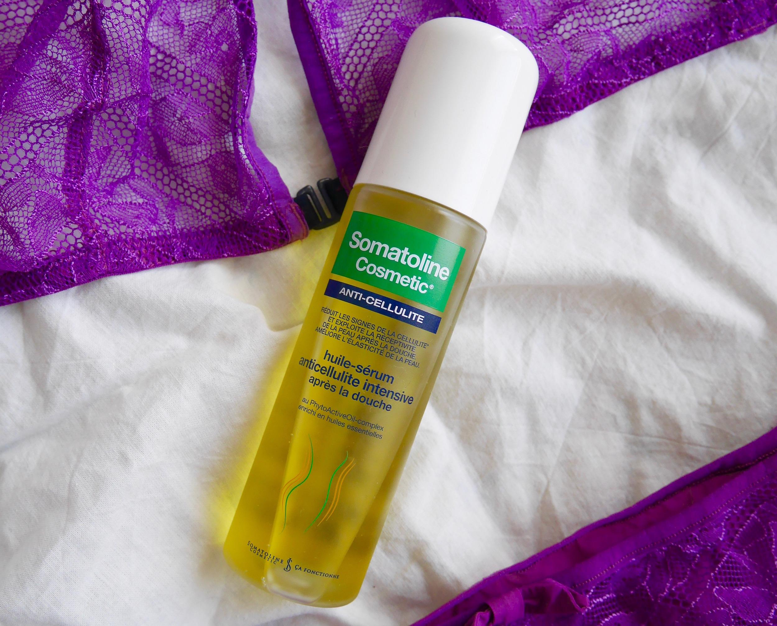 huile serum anti cellulite somatoline
