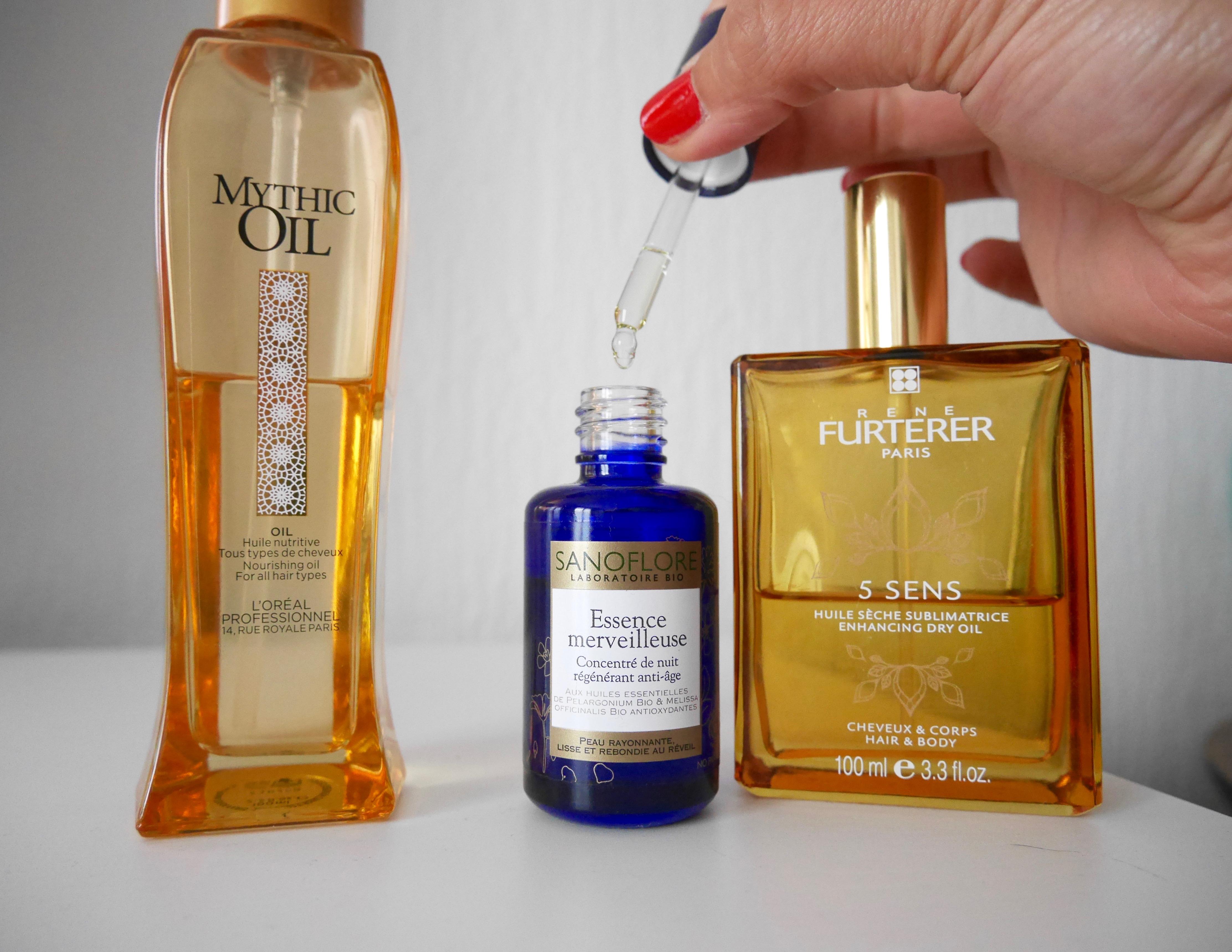 mythic oil huile 5 sens