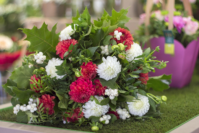jardin des fleurs bouquet mademoiselle modeuse