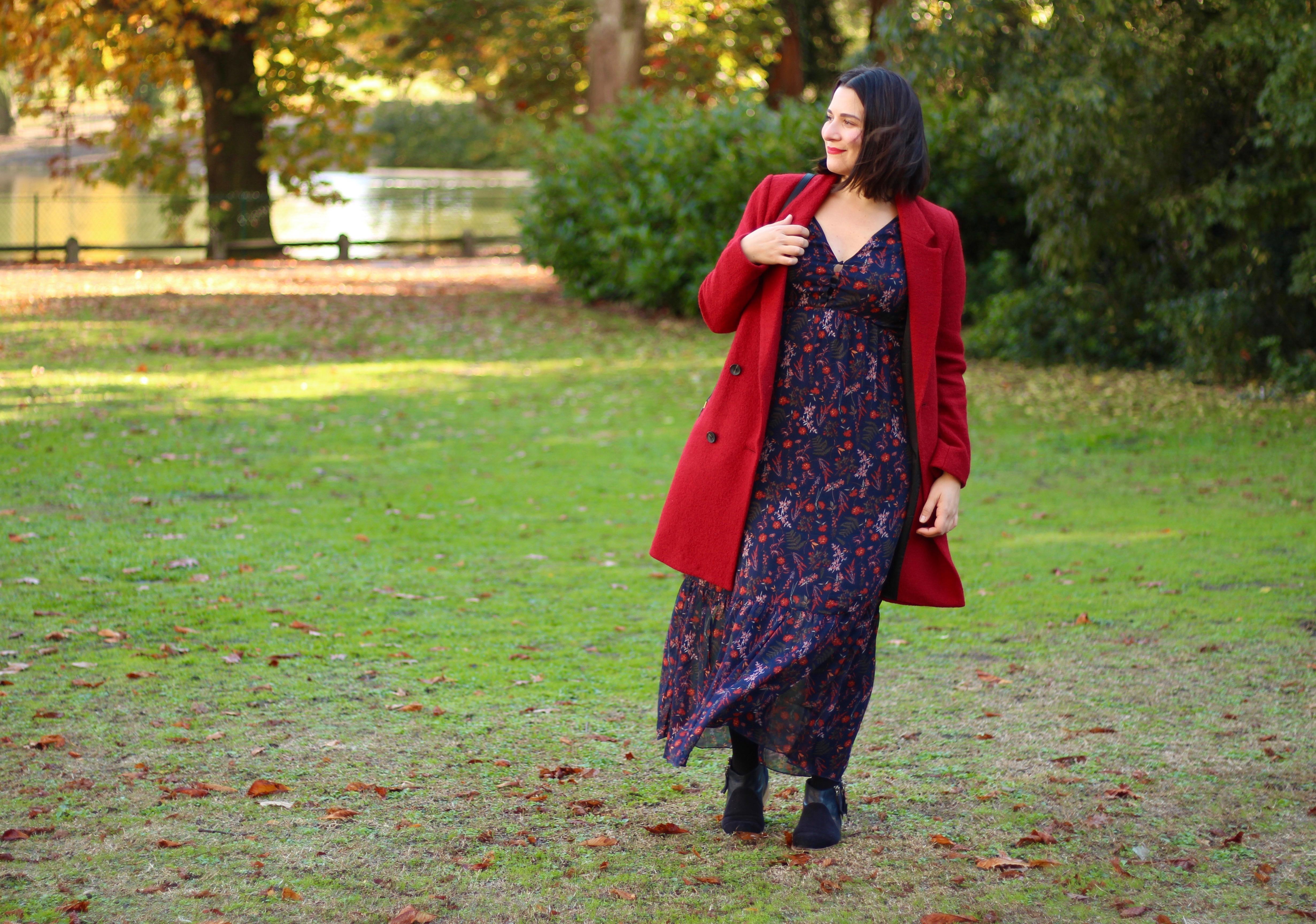 Robe longue hiver follow me