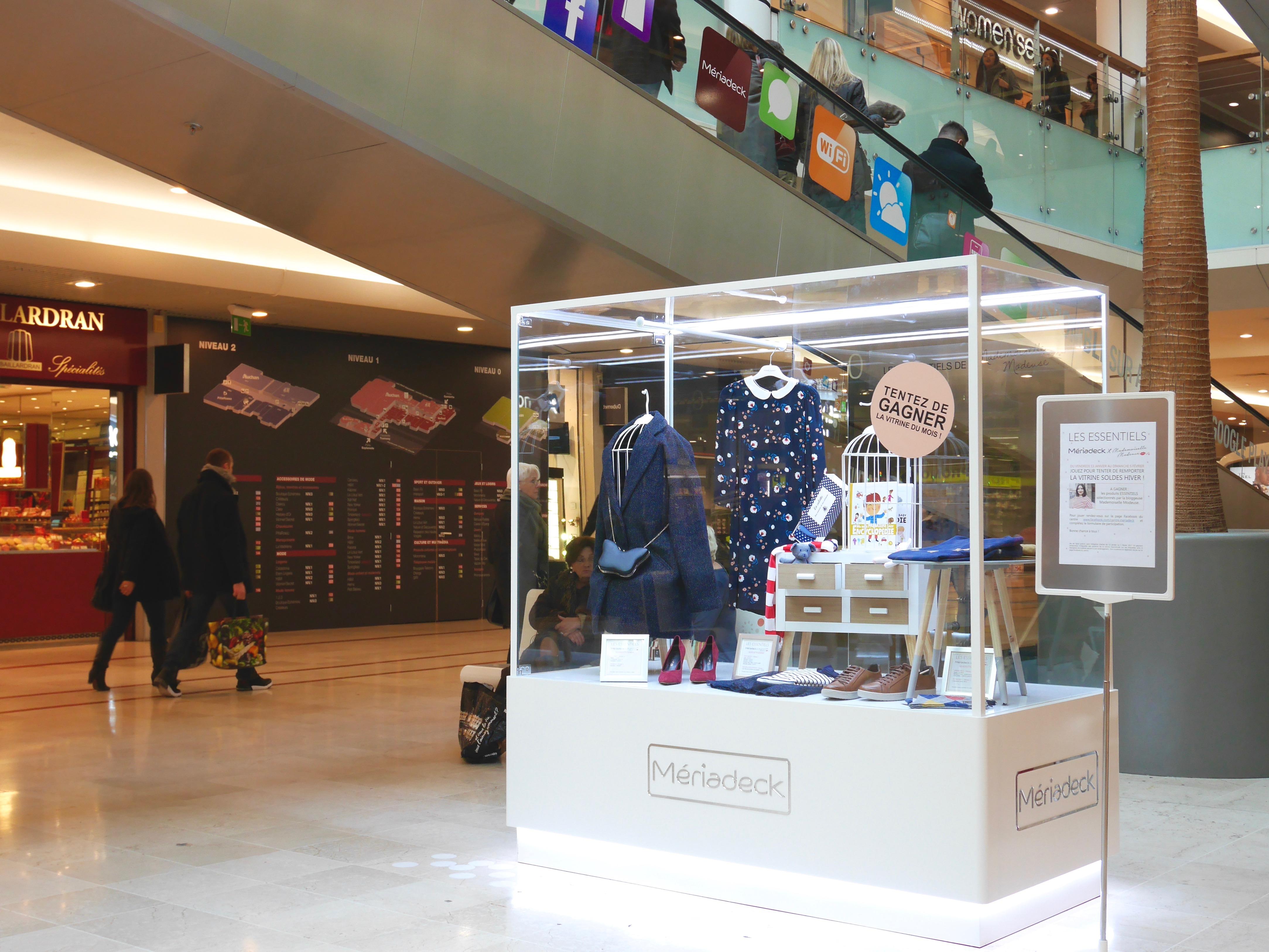 centre commercial meriadeck mode