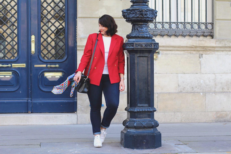 blazer rouge