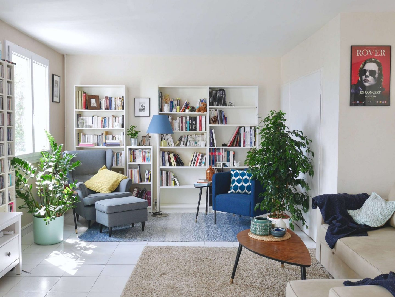 Avant / après : la décoration de mon salon contemporain ...