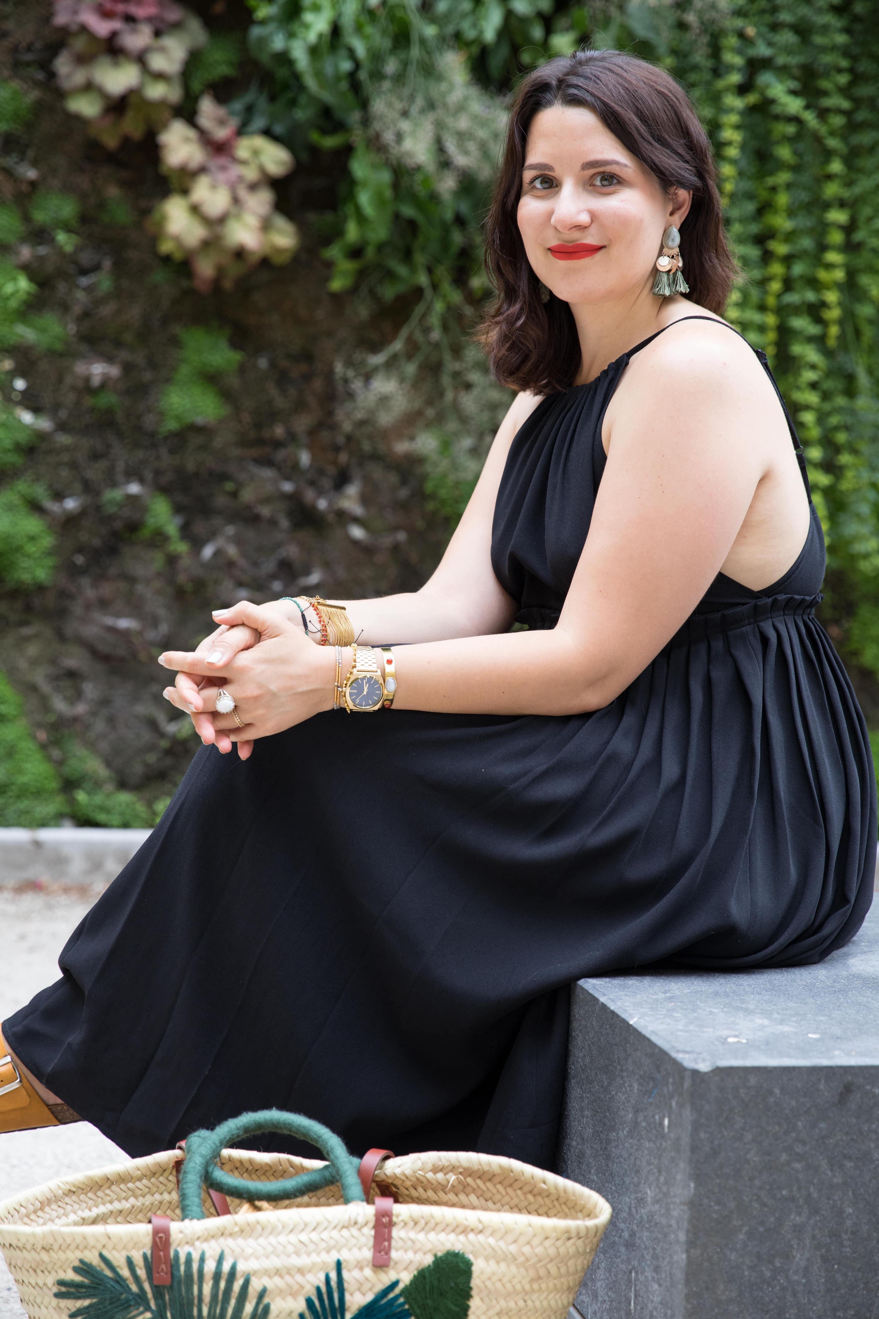 robe noire la redoute soldes