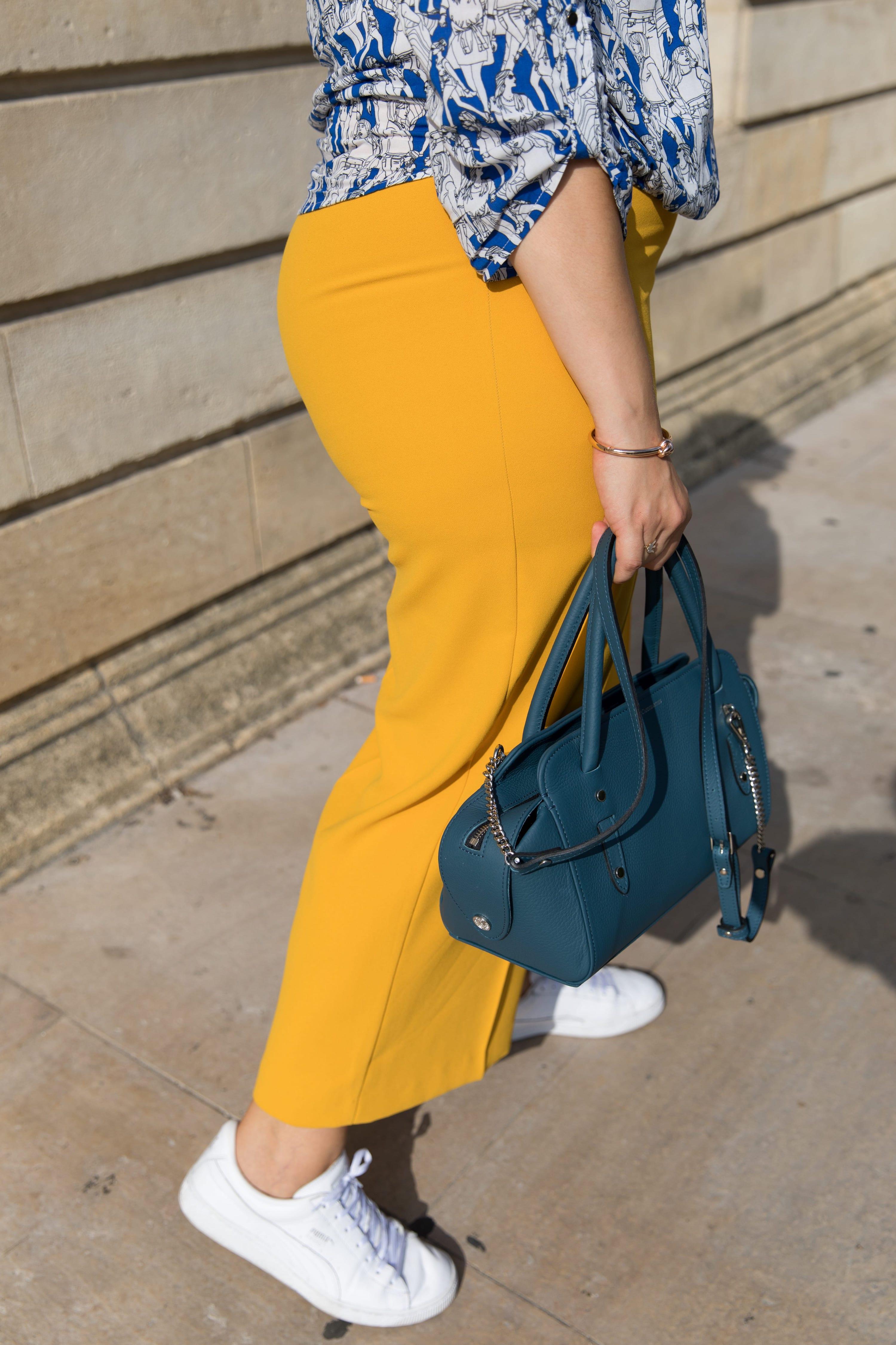 pantalon jaune