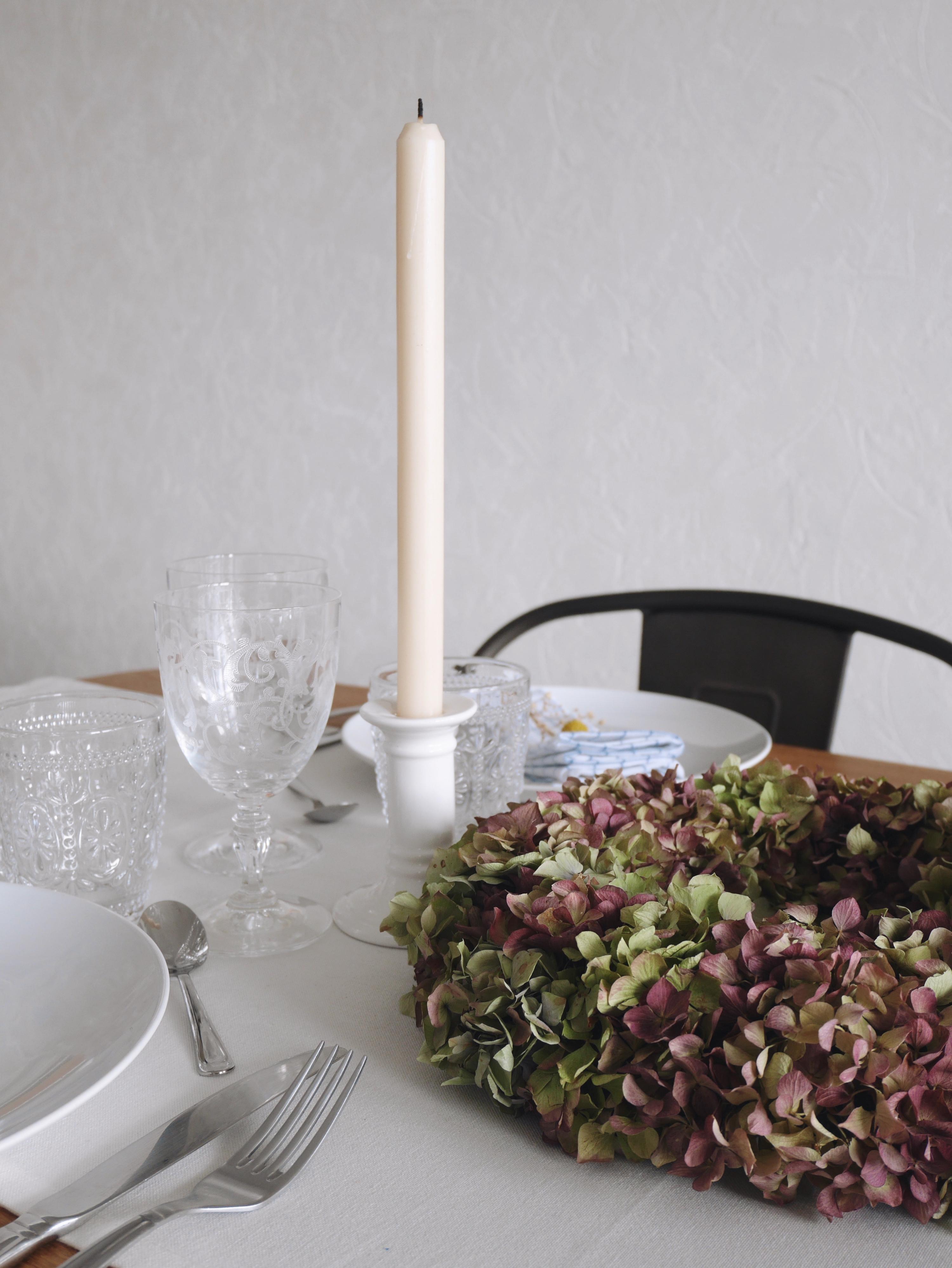 décoration table automne