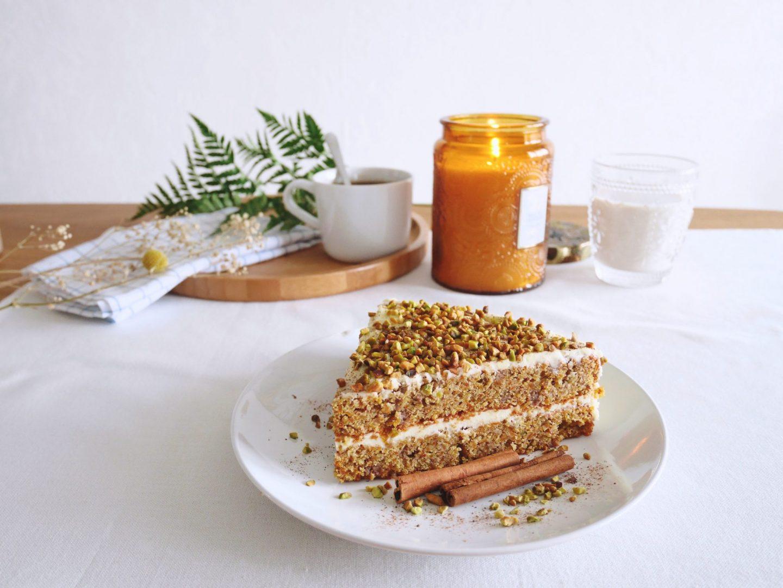 carrot cake sans huile
