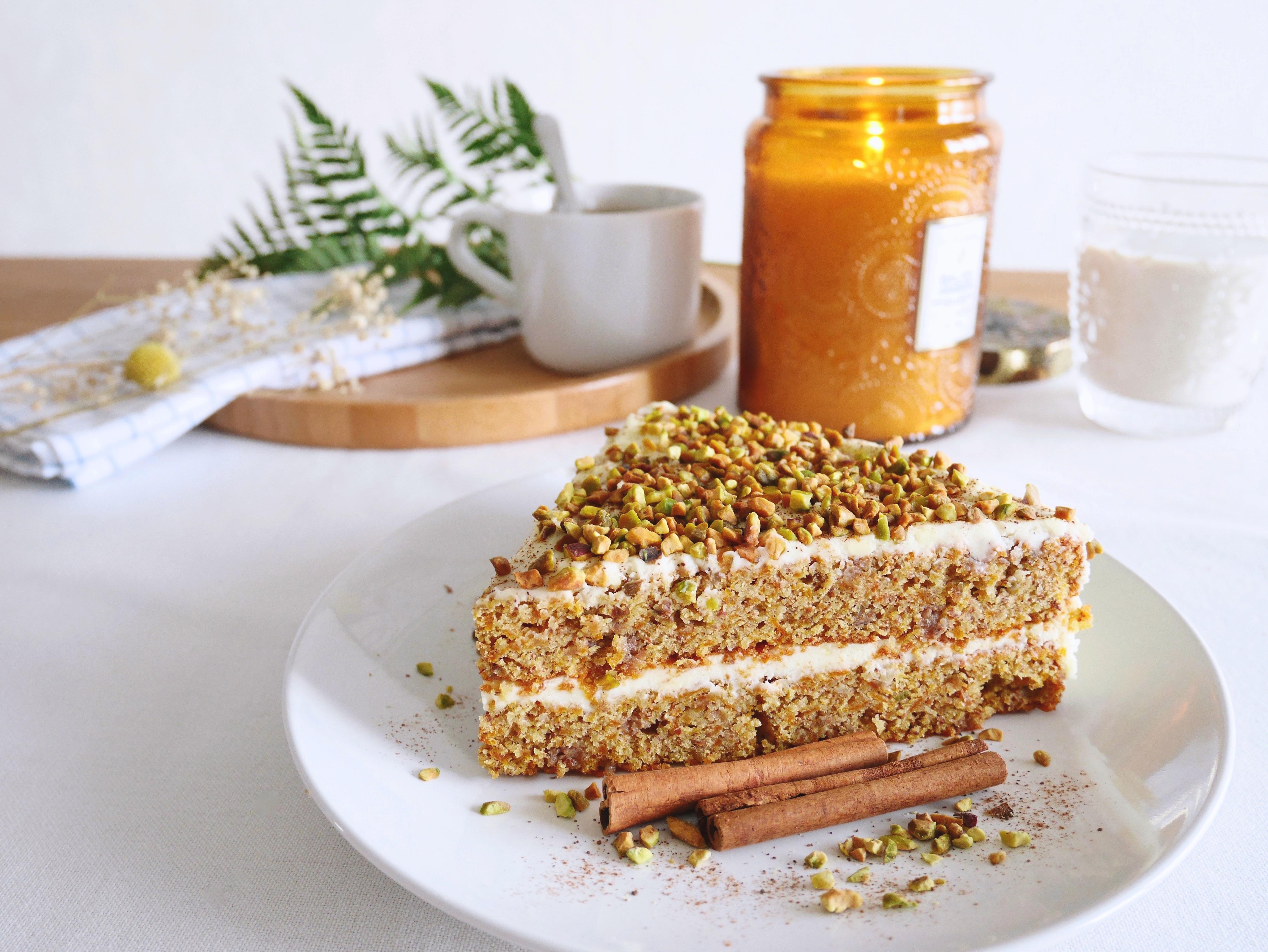 carrot cake recette sans huile