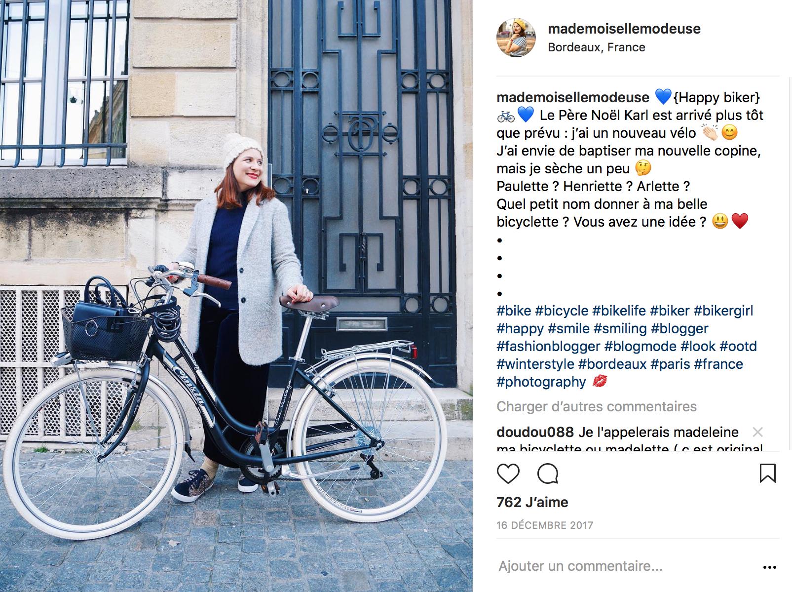 Instagram mademoiselle modeuse