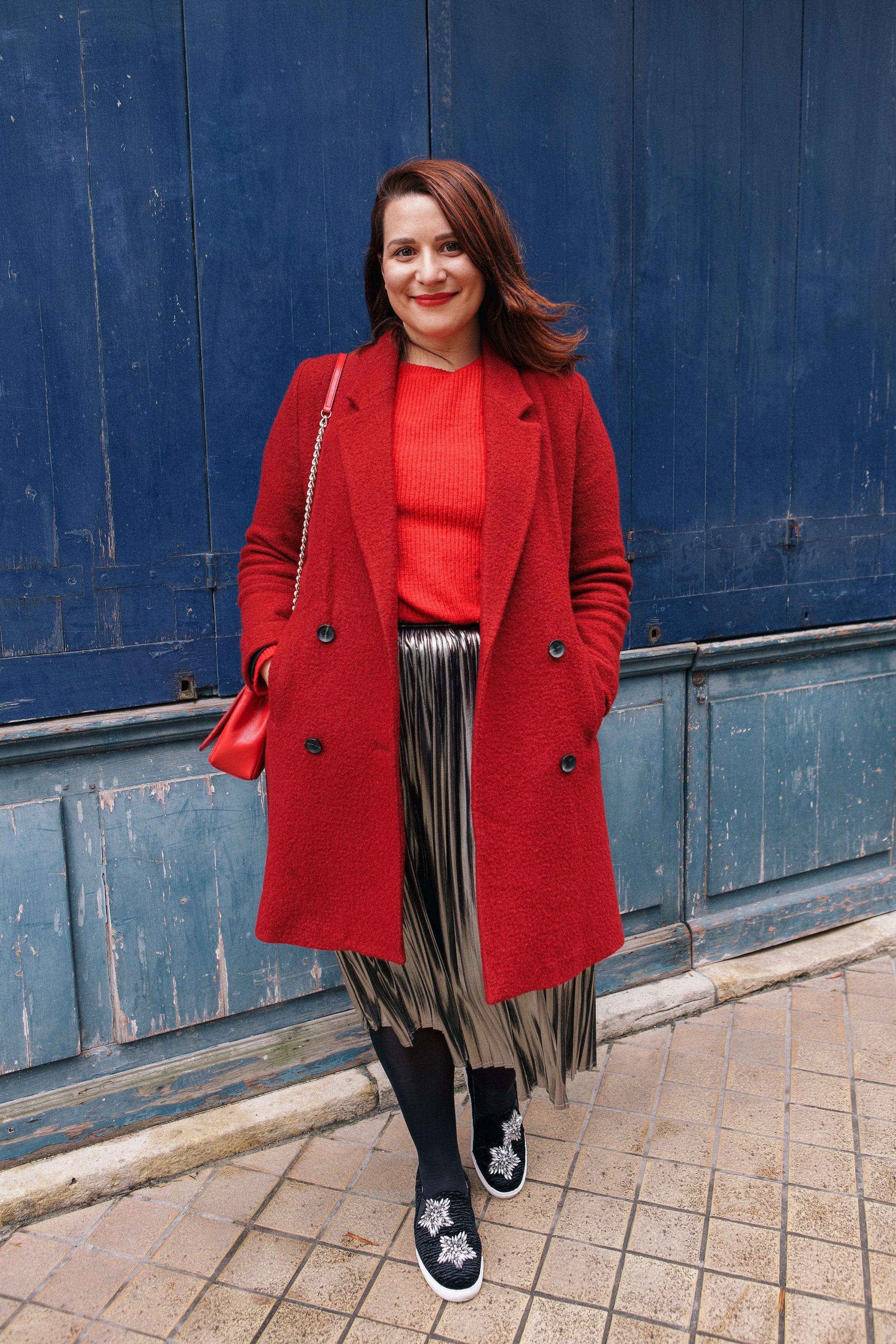 s'habiller en rouge