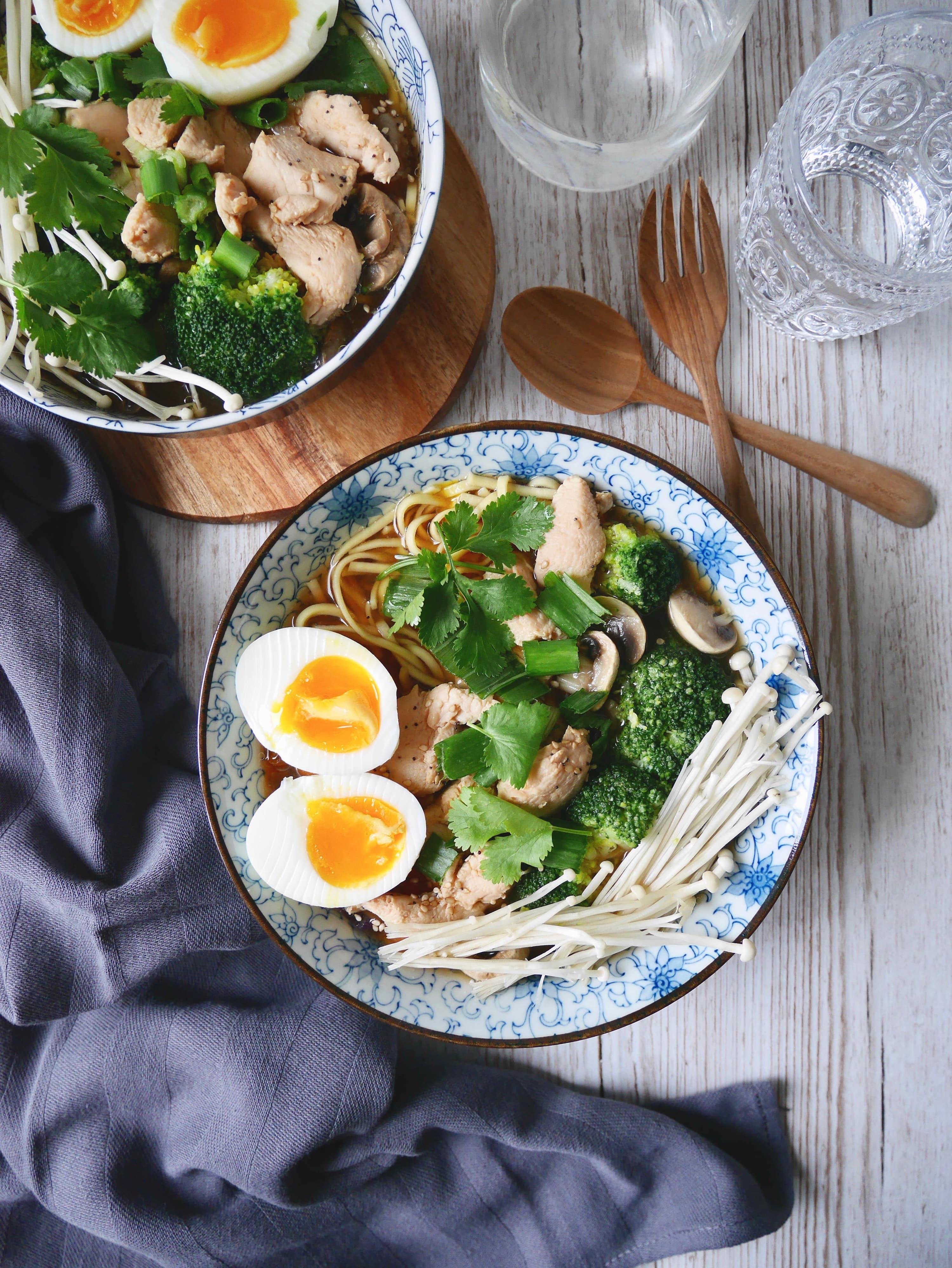 ramen poulet recette
