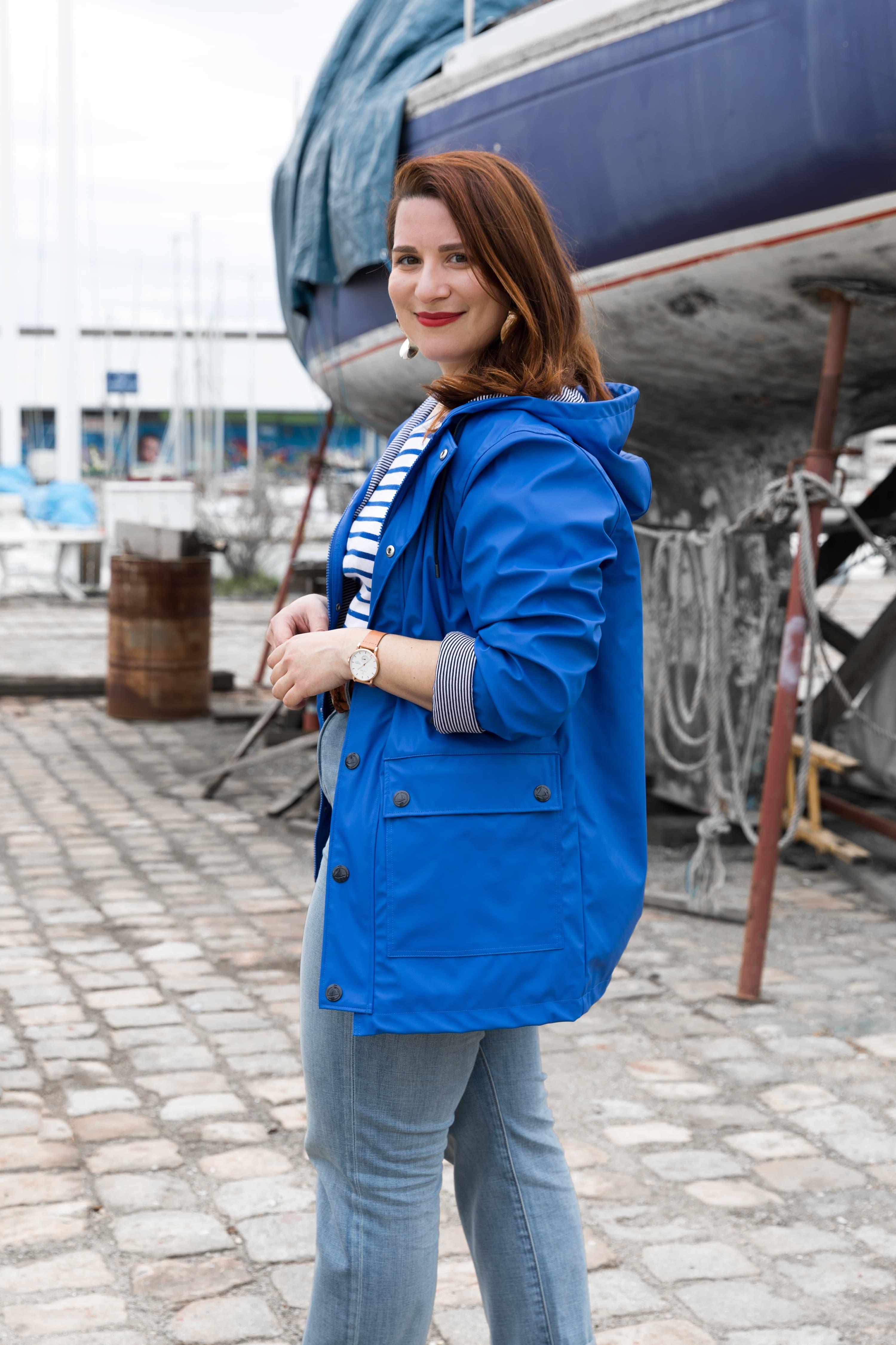ciré bleu petit bateau