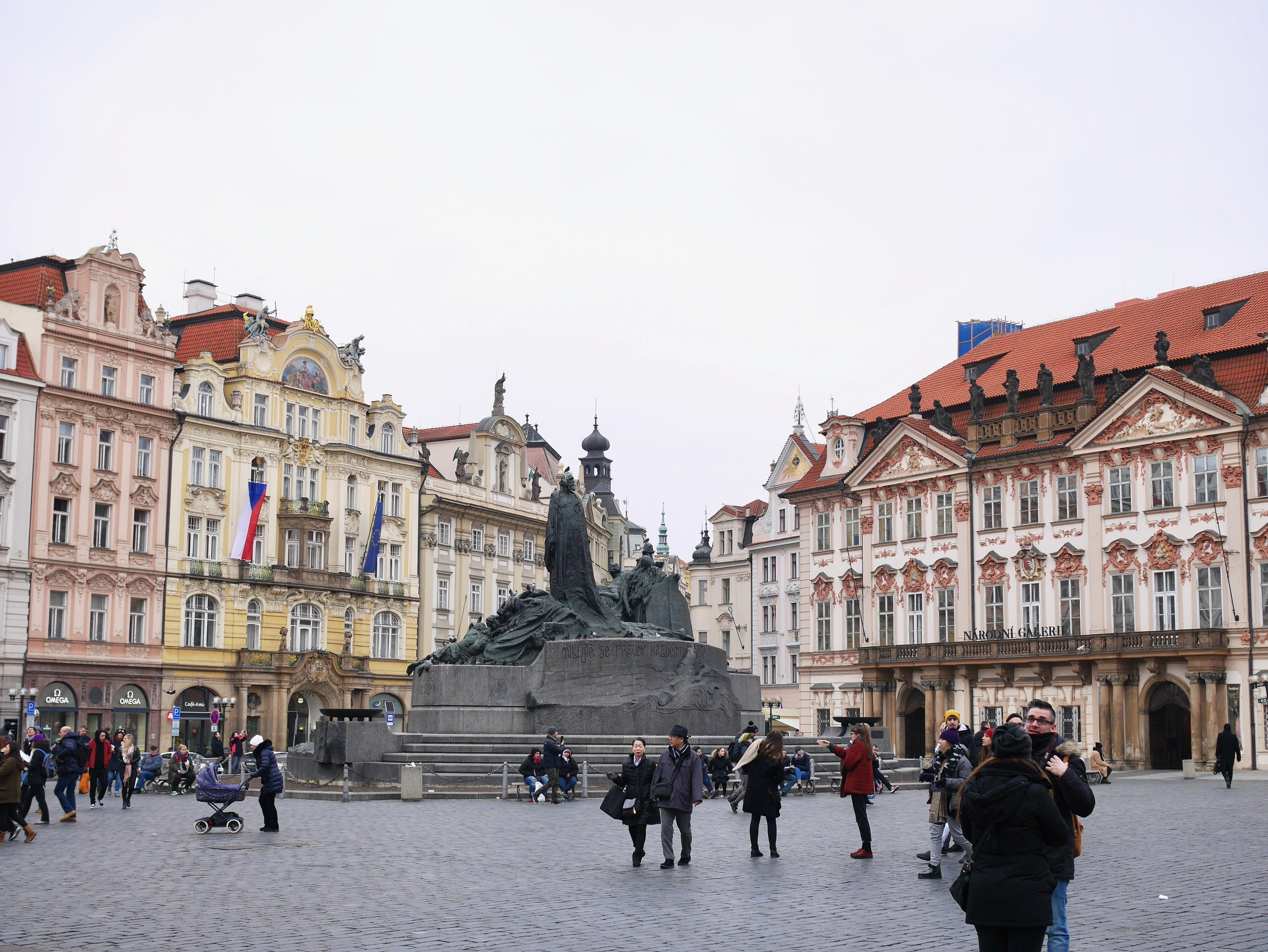 Place de la Vieille-Ville à Prague