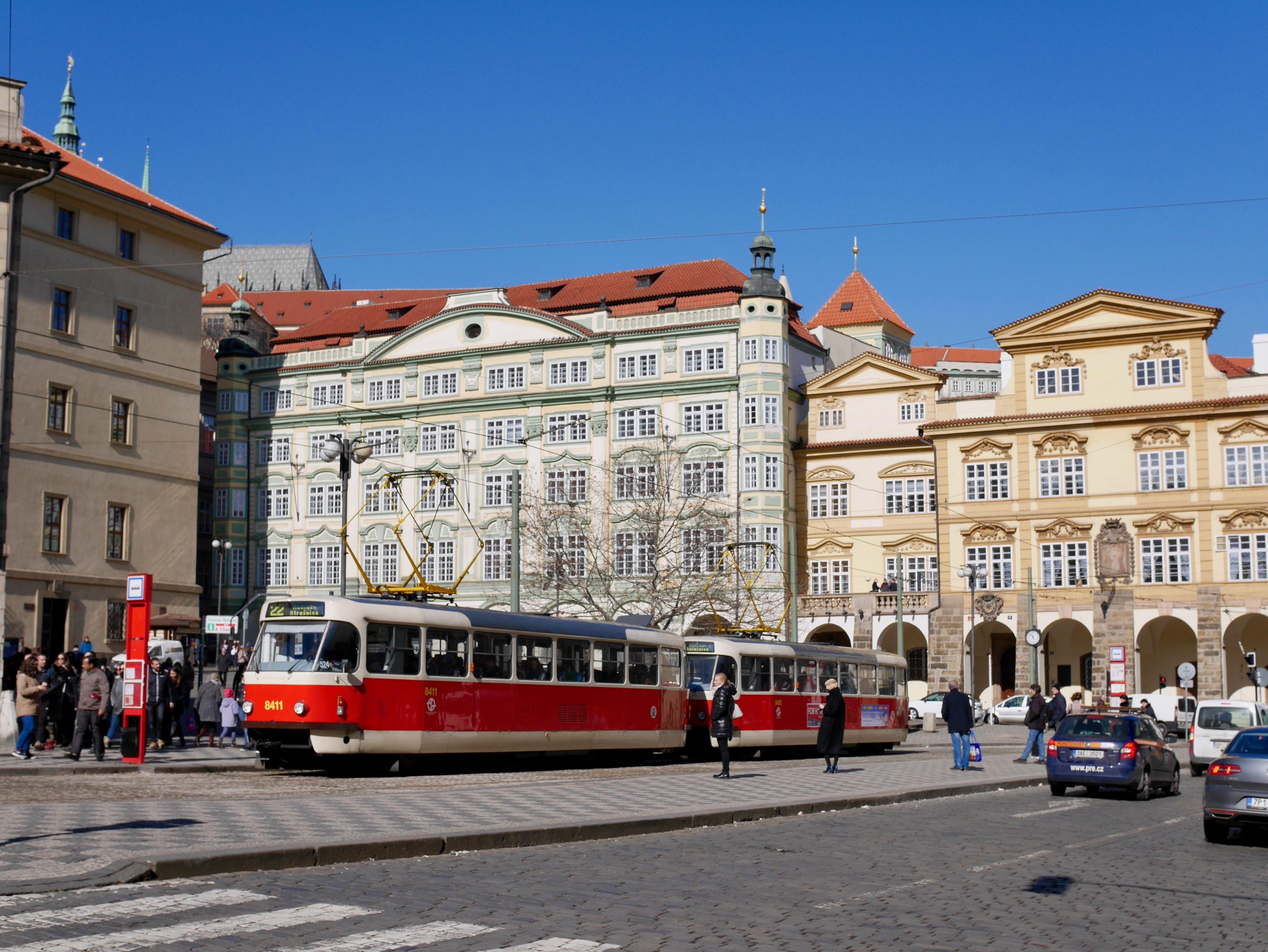 Place de Mala Strana à Prague