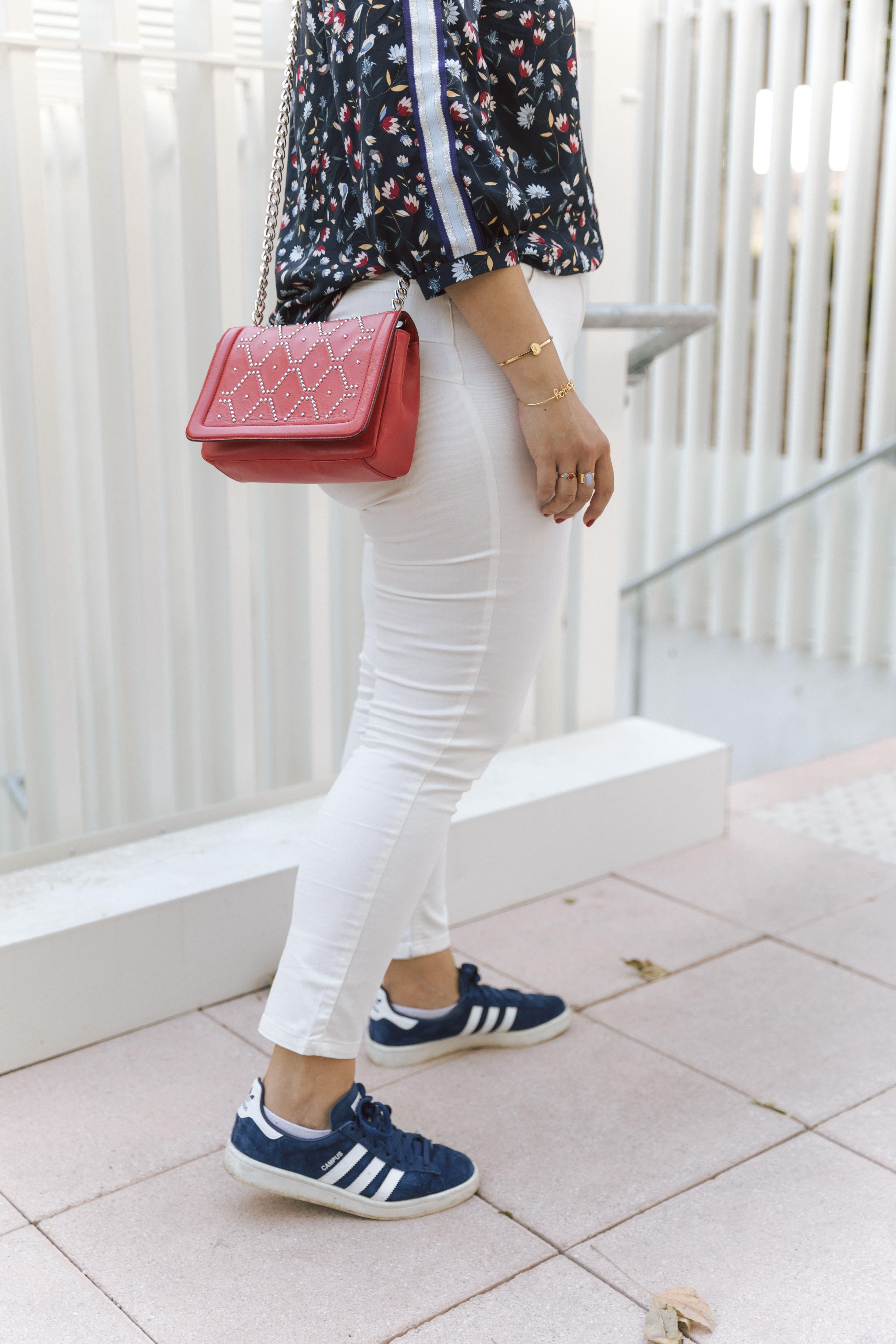 comment porter un jean blanc