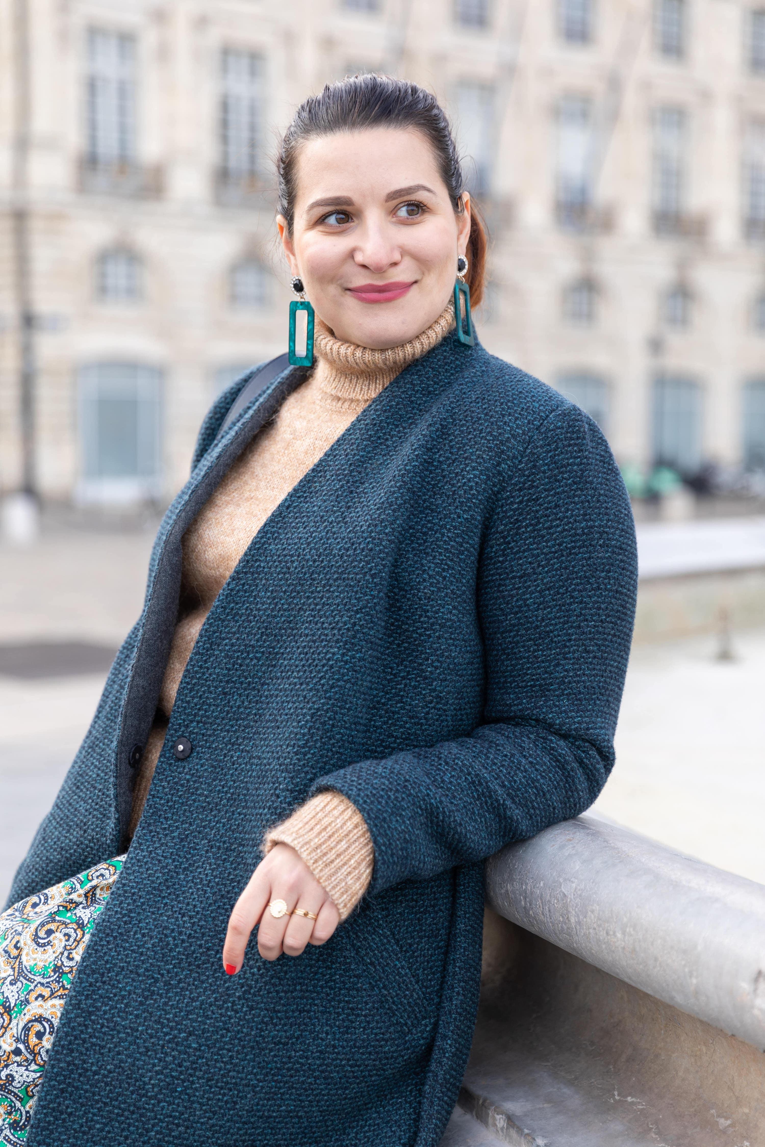 manteau-vert-en-laine