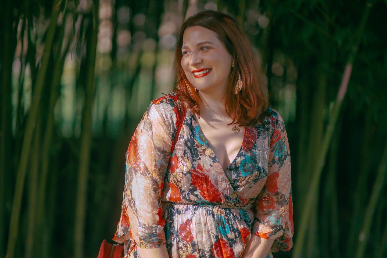 robe-longue-à-fleurs