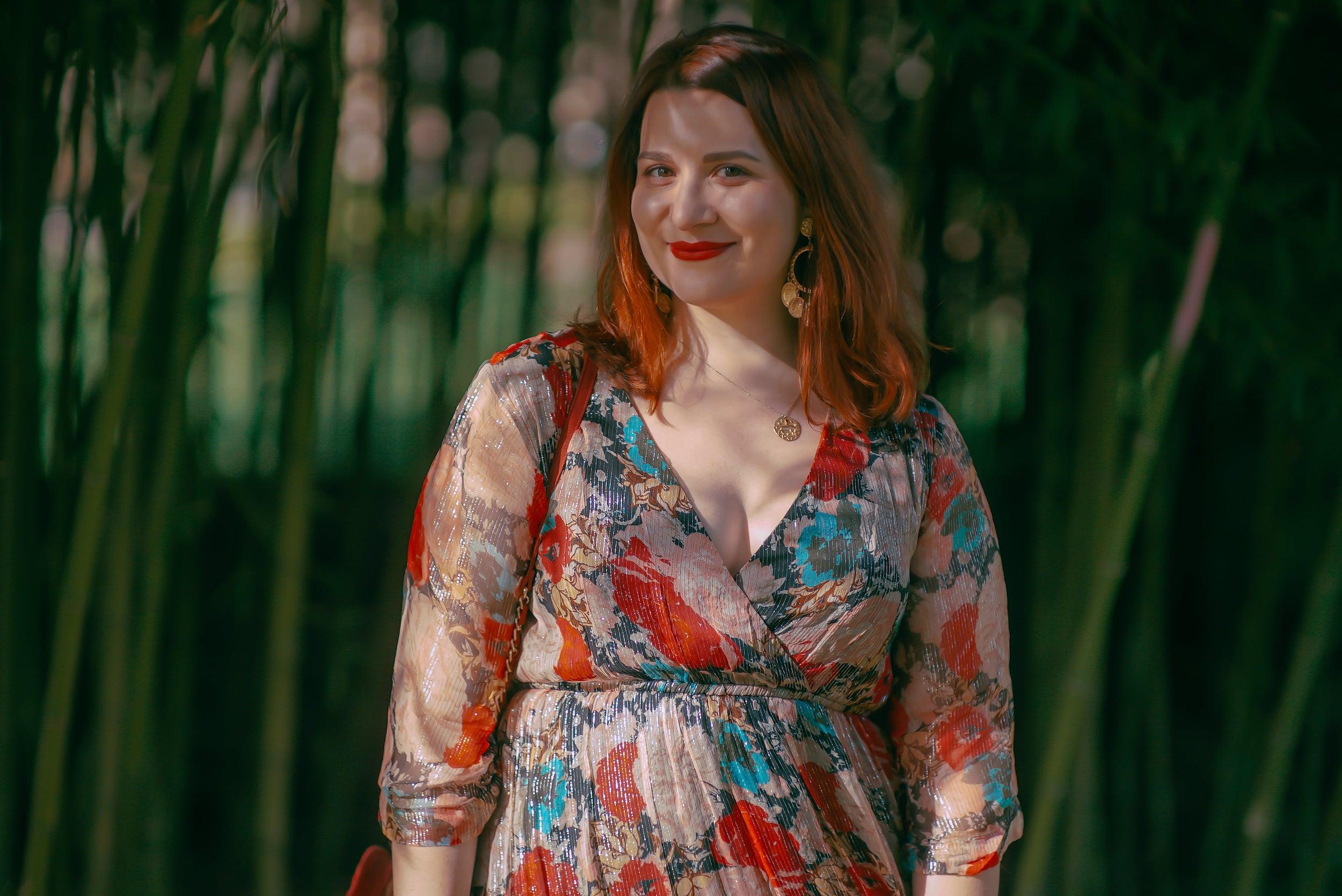 robe-longue-imprimée