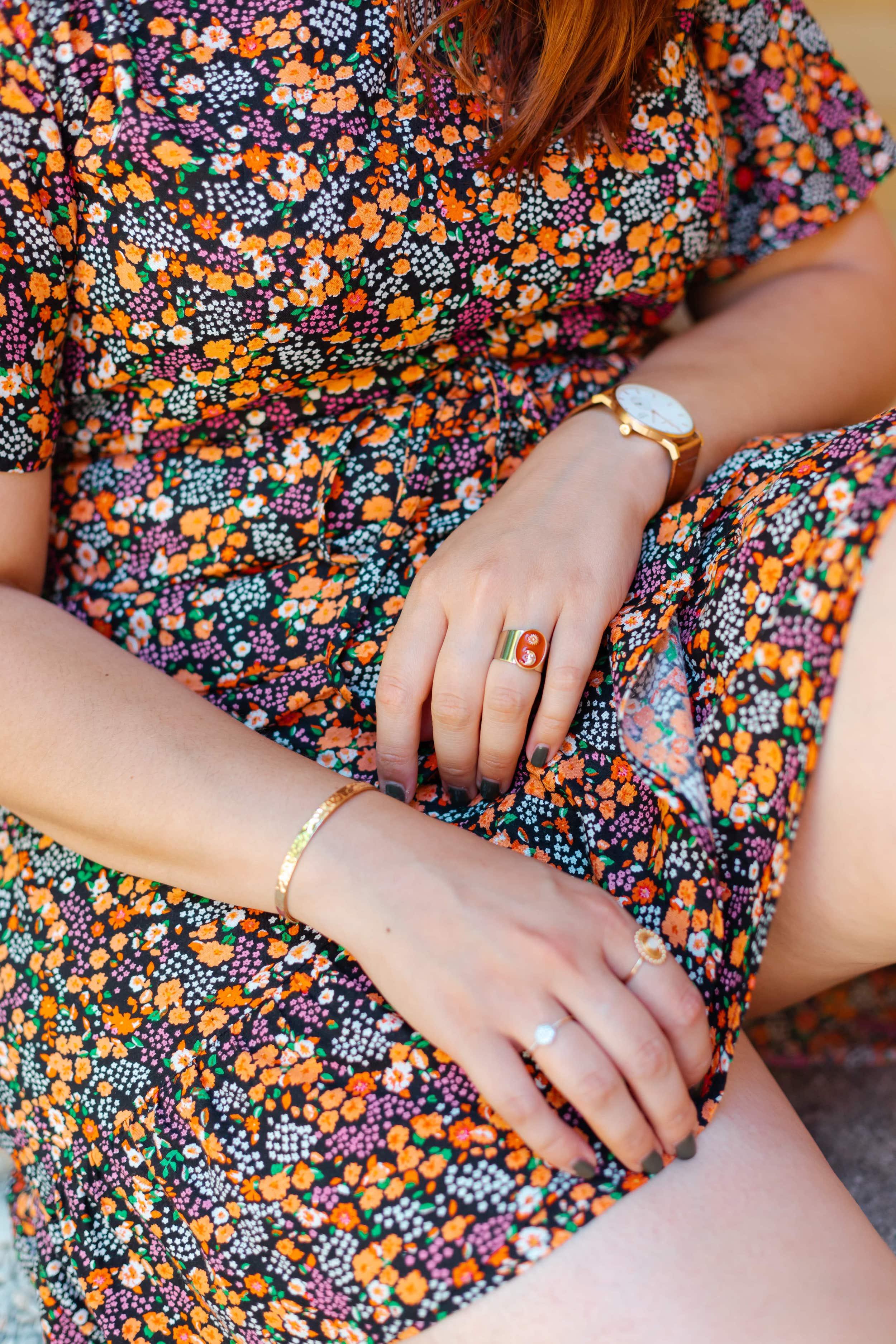 robe-courte-fleurs