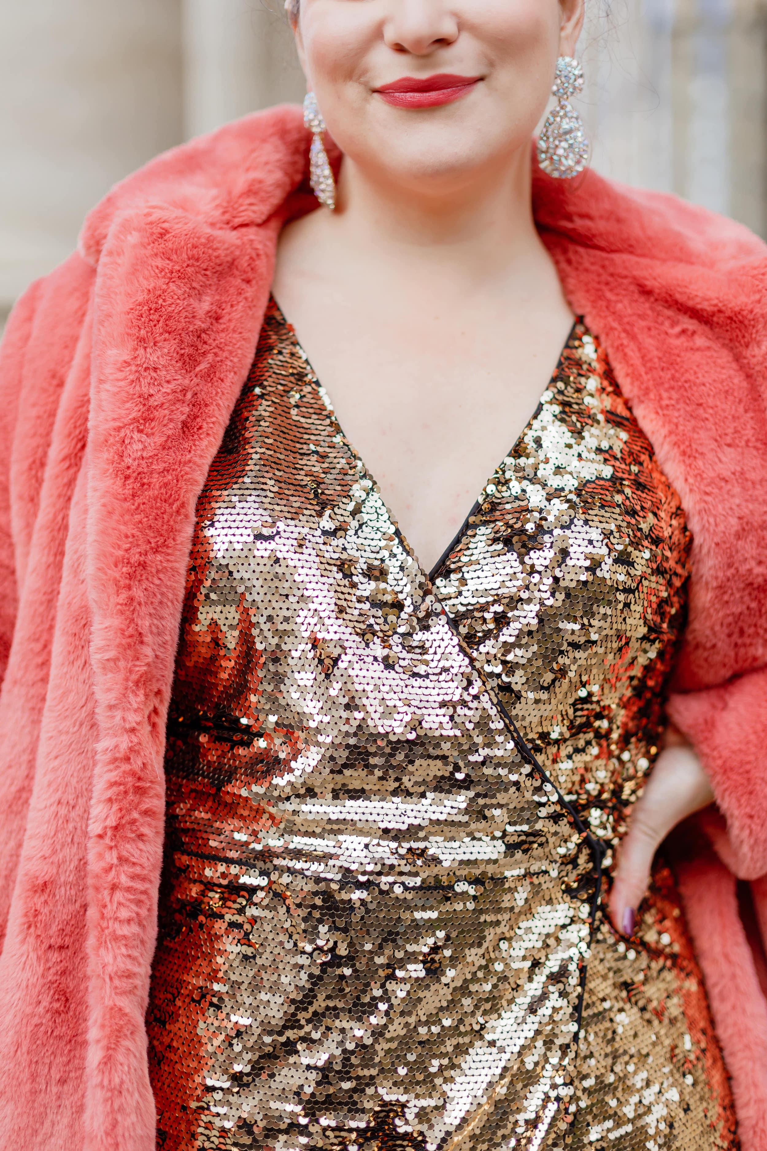 robe-à-sequins