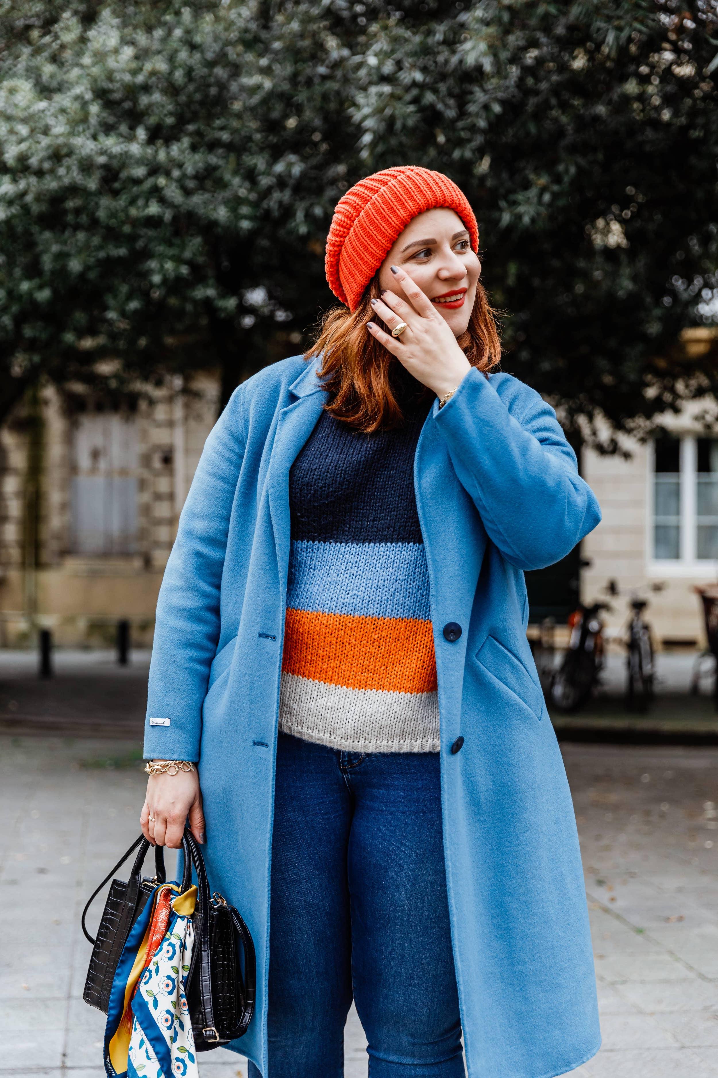 manteau-bleu-laine