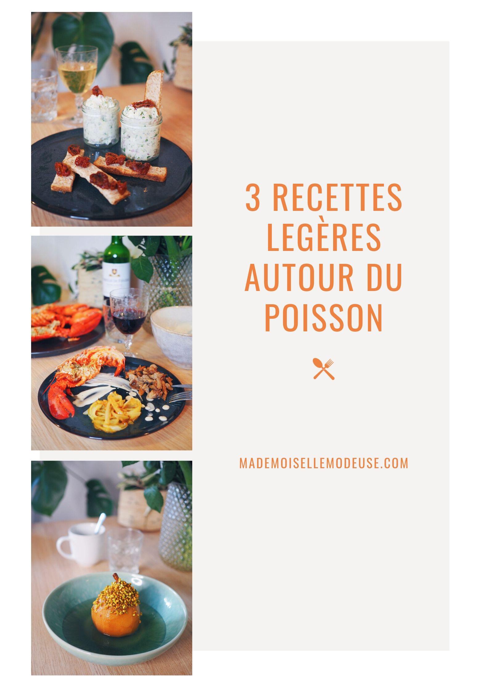 recettes-poisson-légères-pinterest