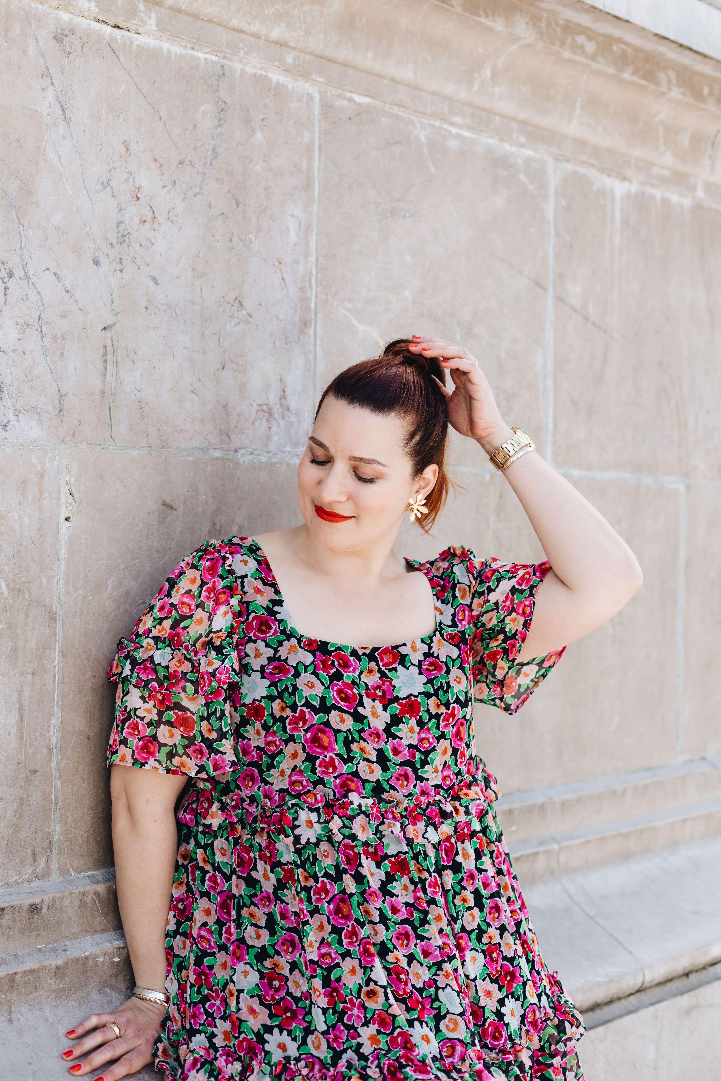 robe-à-fleurs-grande-taille